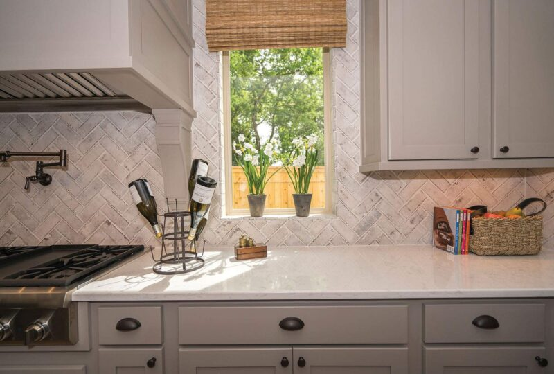 Thin Brick Back Splash