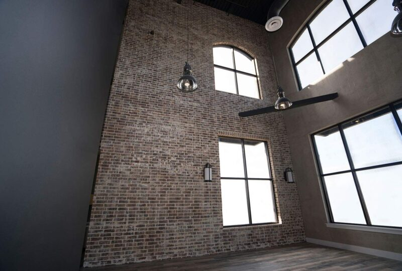 Thin Brick Commercial Interior